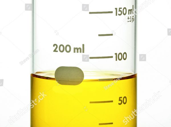stock-photo-glass-laboratory-beaker-with-yellow-liquid-on-white-background-157234718