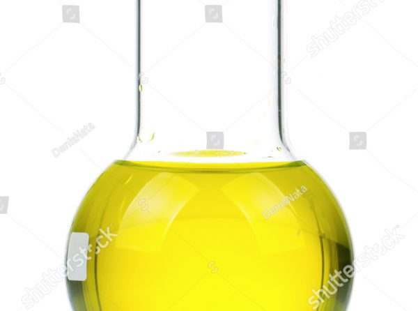 stock-photo-laboratory-glassware-with-yellow-liquid-on-white-background-86057677